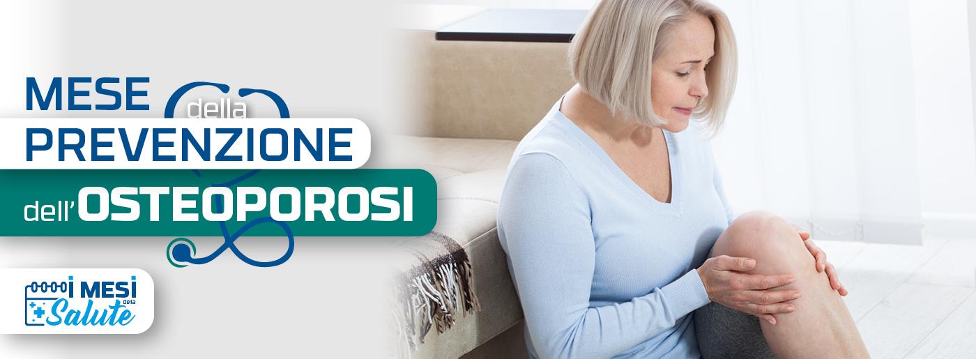 prevenzione dell'osteoporosi